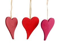 Heart decorations Stock Photo