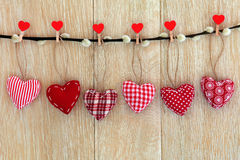 Heart Decorations Stock Photography