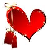 Heart decorative Stock Photography
