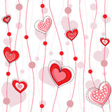 Heart decorative design Stock Photos