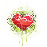 Heart design illustration Royalty Free Stock Image