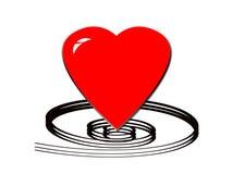 Heart design Stock Image