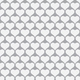 Heart design seamless pattern for Valentines day background Royalty Free Stock Photos