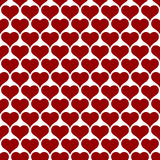 Heart design seamless pattern for Valentines day background Stock Photography
