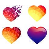 Heart Design Set Royalty Free Stock Photo