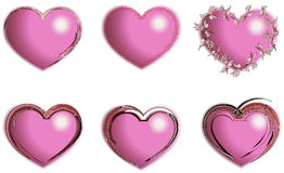 Heart. Design. Heart valentine icon set vector illustration Vector Illustration