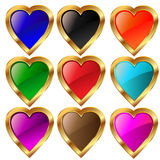 Hearts of love. Royalty Free Stock Image