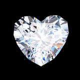 Heart diamond Stock Image