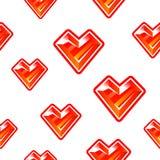 Heart diamond background royalty free illustration