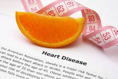 Heart disease. Close up of Heart disease Stock Images