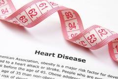 Heart disease Royalty Free Stock Photos