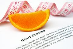Heart disease concept Royalty Free Stock Photos