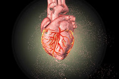 Heart disease concept stock illustration