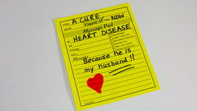 Heart disease and heart attack. Stock Images