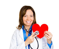 Heart doctor visit Royalty Free Stock Photography