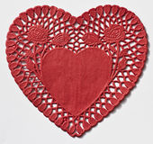 Heart Doily royalty free stock photography
