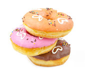 Heart Donuts Royalty Free Stock Images