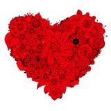 Heart doodle Royalty Free Stock Photos