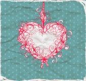 Heart drawn Stock Photos