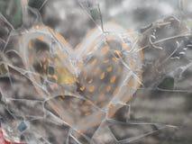 A heart - drawn heart royalty free stock photo