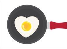 Heart egg Stock Photo