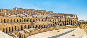 The heart of El Jem Stock Photography