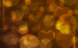 Heart envelope background/cover Royalty Free Stock Photo