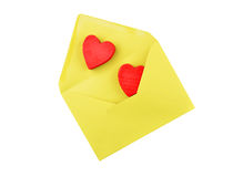 Heart and envelope Royalty Free Stock Photo