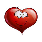 Heart Faces Happy Emoticons - Smiling Royalty Free Stock Photography