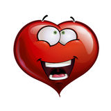 Heart Faces Happy Emoticons - Wanderful Royalty Free Stock Image