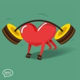 Heart_Fitness3 Arkivbilder