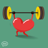 Heart_Fitness3 Immagine Stock