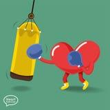 Heart_Fitness3 免版税库存图片