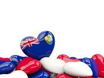 Heart with flag of saint helena Royalty Free Stock Photos