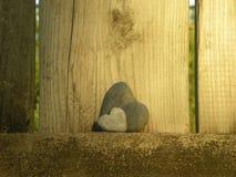 Heart of flint Stock Photo
