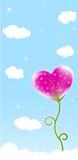 Heart flower Royalty Free Stock Photo