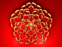 Heart - Flower - Background Royalty Free Stock Photos