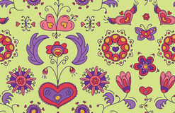 Heart Flower background Royalty Free Stock Images