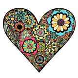 Heart of flower Royalty Free Stock Photo