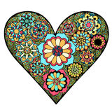 Heart of flower Royalty Free Stock Photography