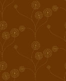 Heart flower pattern Royalty Free Stock Photography