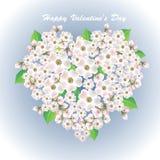 Heart Flower02 Stock Photo