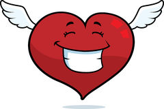 Heart Flying Royalty Free Stock Photo