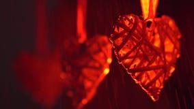 Heart in focus stock video footage