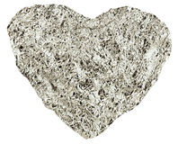 Heart of the foil Royalty Free Stock Photo