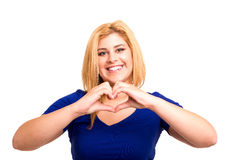 Heart form Royalty Free Stock Images