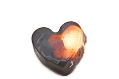 Heart formed soap Stock Image