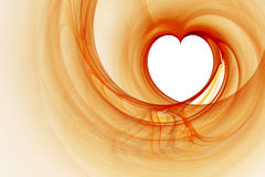 Heart Fractal Royalty Free Stock Image