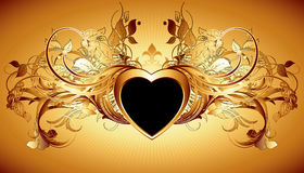 Heart frame Royalty Free Stock Photos