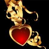 Heart frame stock illustration